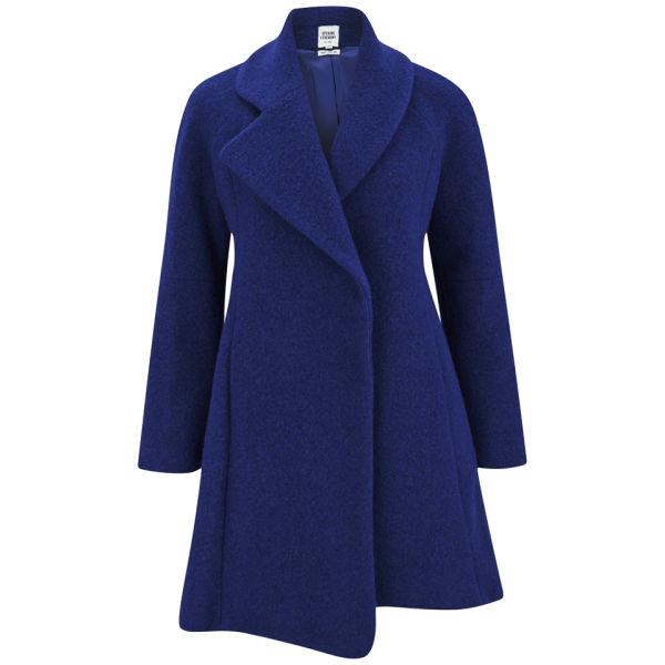 Opening Ceremony Women's Morgane Amorphic Front Coat - Cobalt