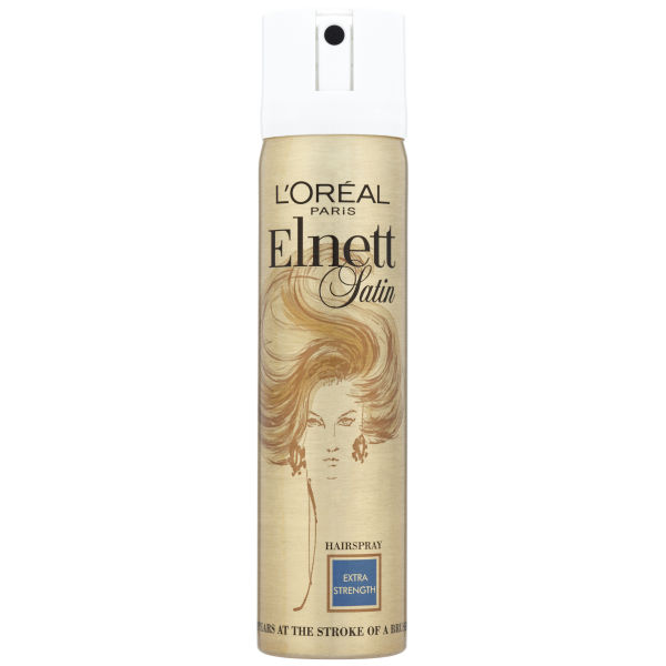6b2bfc3293e L'Oréal Paris Elnett Satin Hairspray - Extra Strength (75ml) | Free  Shipping | Lookfantastic