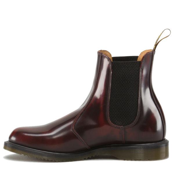 dr martens women 39 s kensington flora arcadia leather chelsea boots cherry red womens footwear. Black Bedroom Furniture Sets. Home Design Ideas