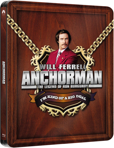 Anchorman: The Legend of Ron Burgundy - Zavvi Exclusive Limited Edition Steelbook (UK EDITION)