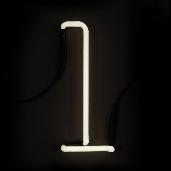 Wall Mounted Letter Lights : Seletti Neon Wall Light - Letter L IWOOT