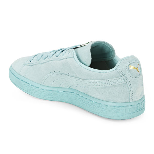 5216efb955cd ... where to buy puma womens suede classics trainers light blue image 5  49f1c 562aa