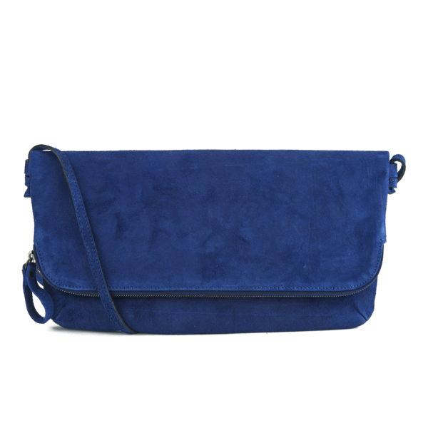 Yvonne Koné Women's Folded Zip Clutch Crossbody Bag - Electric Blue