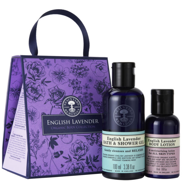 Neal's Yard Remedies English Lavender Body Collection (2 Products) | Free Shipping | Lookfantastic