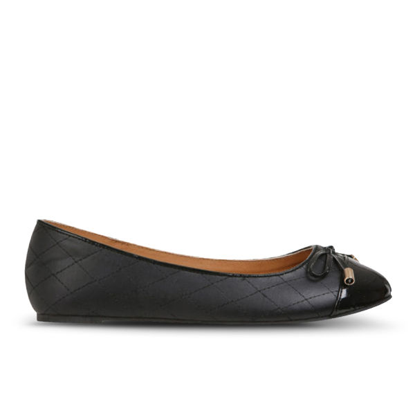 Love Sole Women's Quilted Pumps - Black