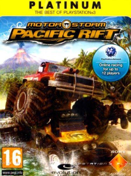 Motorstorm Pacific Rift Platinum Ps3 Zavvi