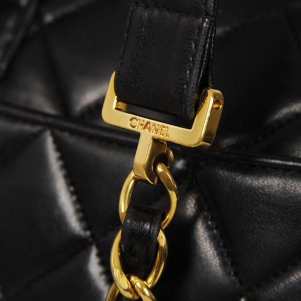 fa566e4224cb Chanel Vintage Leather Quilted Backpack  Image 4