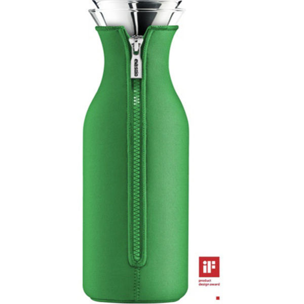 Eva Solo 1 Litre Fridge Carafe with Neoprene Cover - Jolly Green