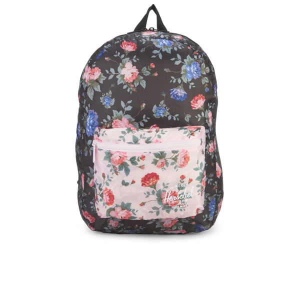 Herschel Supply Co. Packable Daypack Backpack - Black Floral