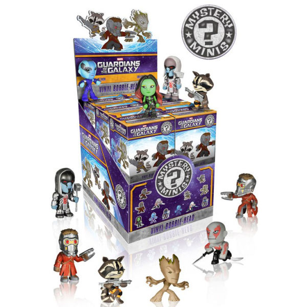 Marvel Guardians Of The Galaxy Mystery Mini Vinyl Figures