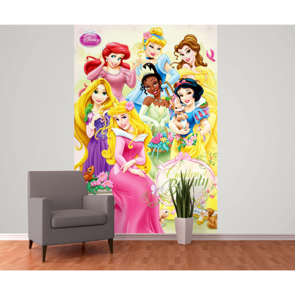 Disney princess wall mural homeware zavvi for Disney princess mural asda