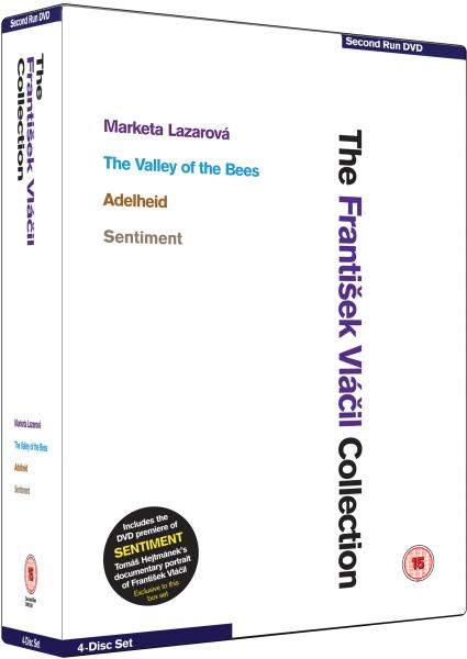 The František Vlácil Box Set (Marketa Lazarova / The Valley of the Bees / Adelheid)