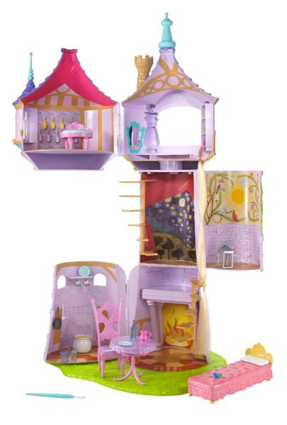 Disney Rapunzel Castle Tower Toys Zavvi Com