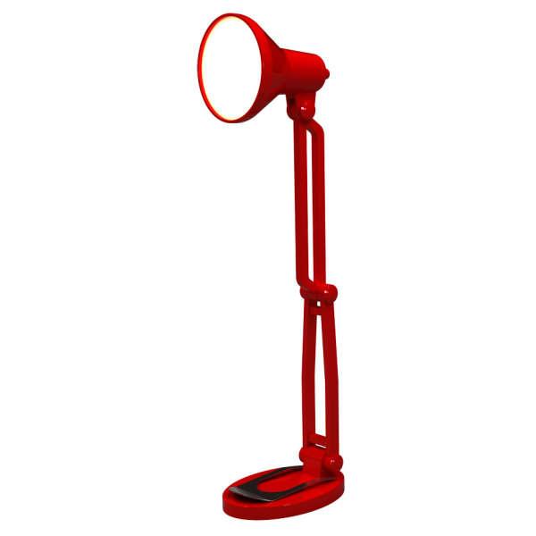 Mini Retro Style Desk Lamp Book Light Red Iwoot