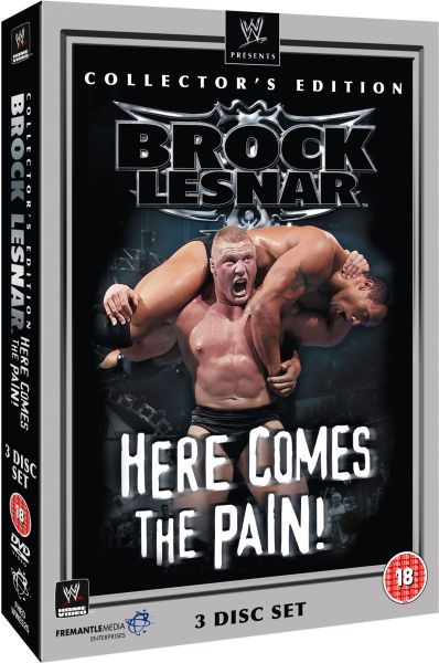 WWE: Brock Lesnar - Here Comes The Pain - Collector