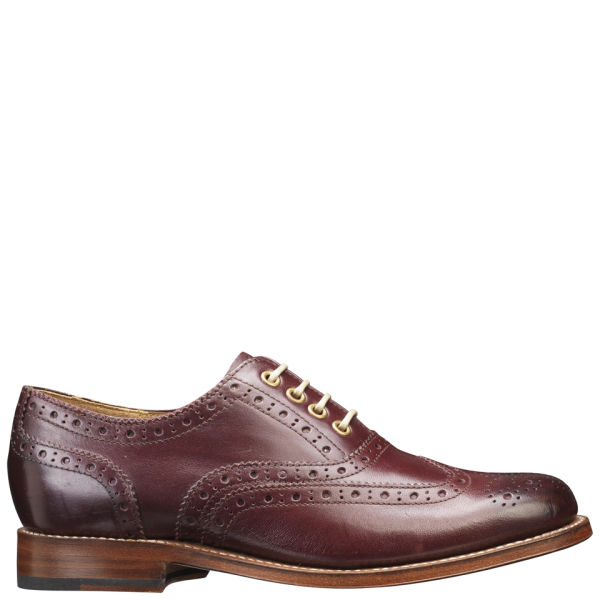 Grenson Women's Rose Brogues - Oxblood