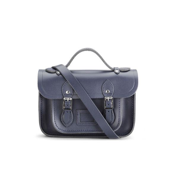 The Cambridge Satchel Company Mini Leather Satchel - Navy