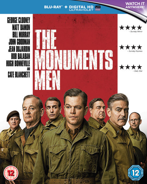 The Monuments Men (Includes UltraViolet Copy)