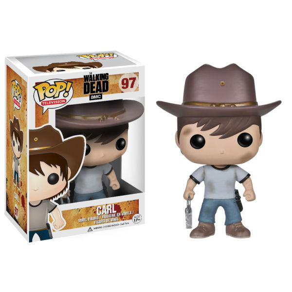 Figurine Pop! Carl Grimes The Walking Dead