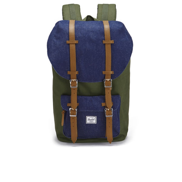 46e6426b8f4a Herschel Supply Co. Select Little America Backpack - Dark Army Indigo  Denim  Image