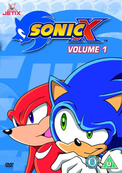 Sonic X Vol 1 Dvd Zavvi Uk