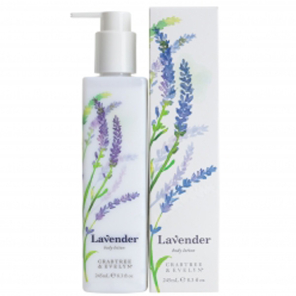 Lotion corporelle Crabtree & Evelyn à base de lavande (245ml)