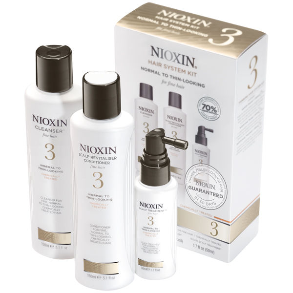 Nioxin Hair System Kit 3 For Fine Chemically Treated Hair