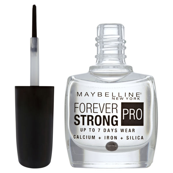 Maybelline Forever Strong Nail Varnish Crystal Clear Image 2