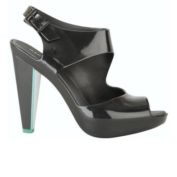 Melissa Women's Estrelicia Heeled Sandals - Black