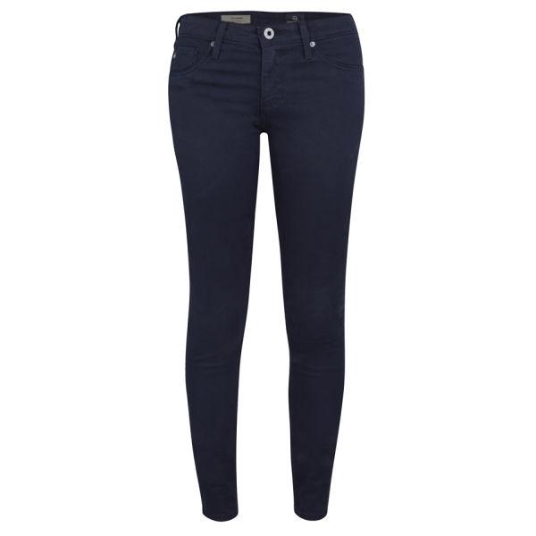 AG Jeans Women's Low Rise Legging Jeans - Double Indigo - W25