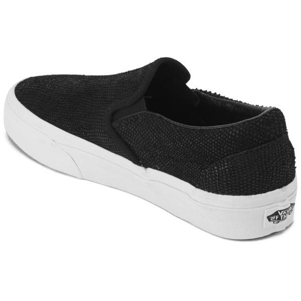 Vans Classic Slip-On Snake Plimsolls Womens Sports footwear Womens ... 2f2a68fed