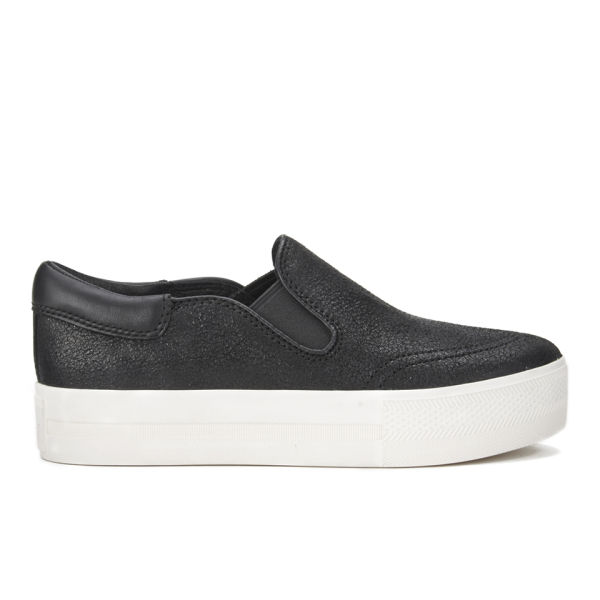 Ash Women's Jam Cracked Nappawax Slip-On Trainers - Black
