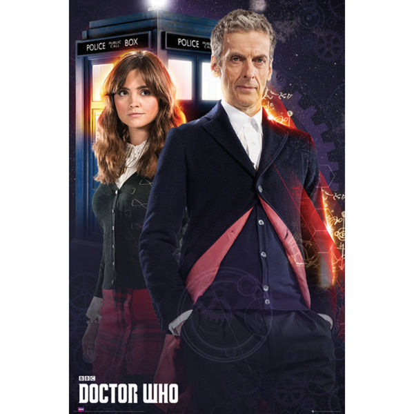 Doctor Who Doctor and Clara - Maxi Poster - 61 x 91.5cm