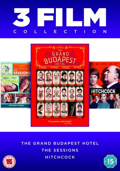 The Grand Budapest Hotel / The Sessions / Hitchcock