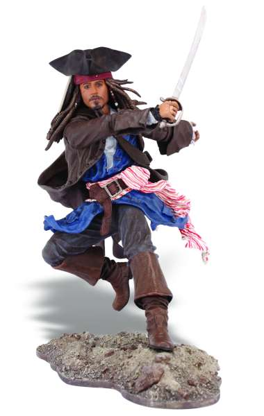 Pirates Of The Caribbean Super Deluxe Figure Wave 1 Jack