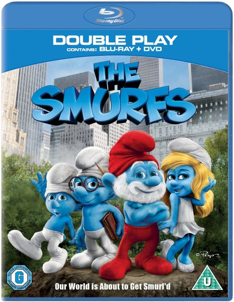 The Smurfs (Blu-Ray and DVD)