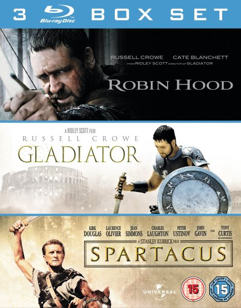 Robin Hood / Gladiator / Spartacus
