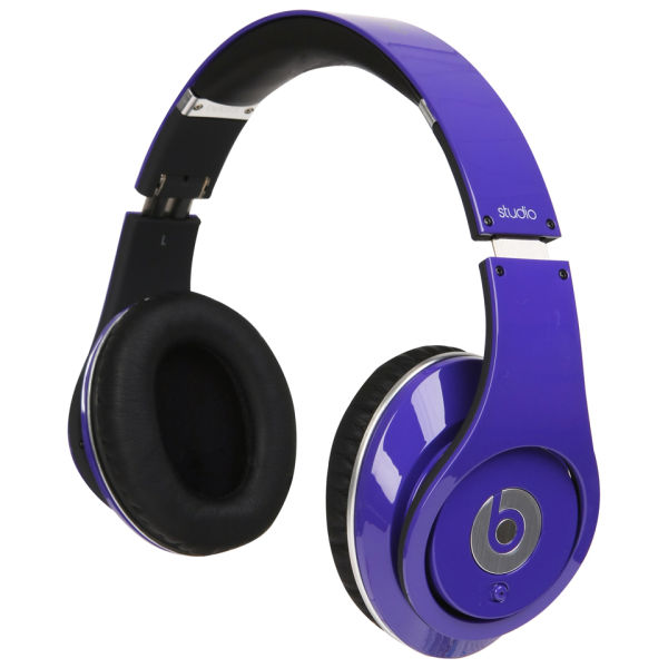 Beats by Dr. Dre  Studio Noise Cancelling HD Headphones with Microphone -  Purple  2710fa0250