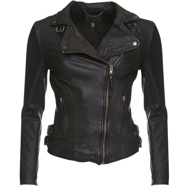 Muubaa Women's Reval Biker Jacket - Black