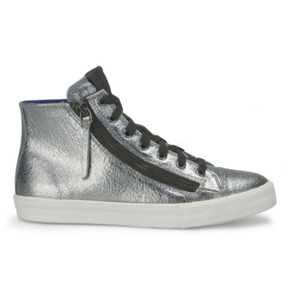 BOSS Orange Women's Nycol-R Hi-Top Trainers - Silver