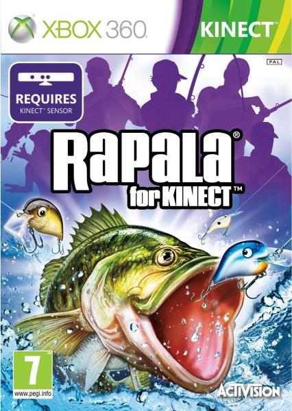 Rapala fishing kinect xbox 360 zavvi for Fishing games for xbox 360