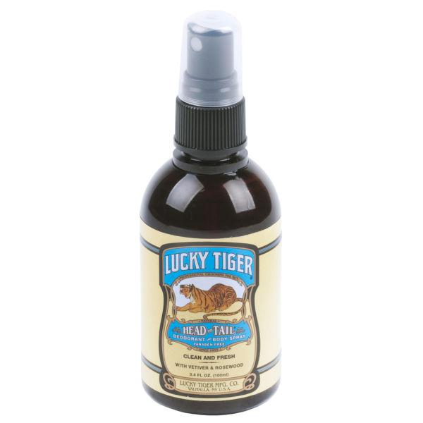 Lucky Tiger Deodorant and Body Spray (100ml)