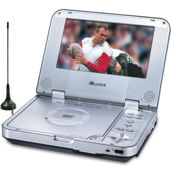 mustek mp70d 7 39 39 lcd tv dvd player with dvb t tuner electronics. Black Bedroom Furniture Sets. Home Design Ideas