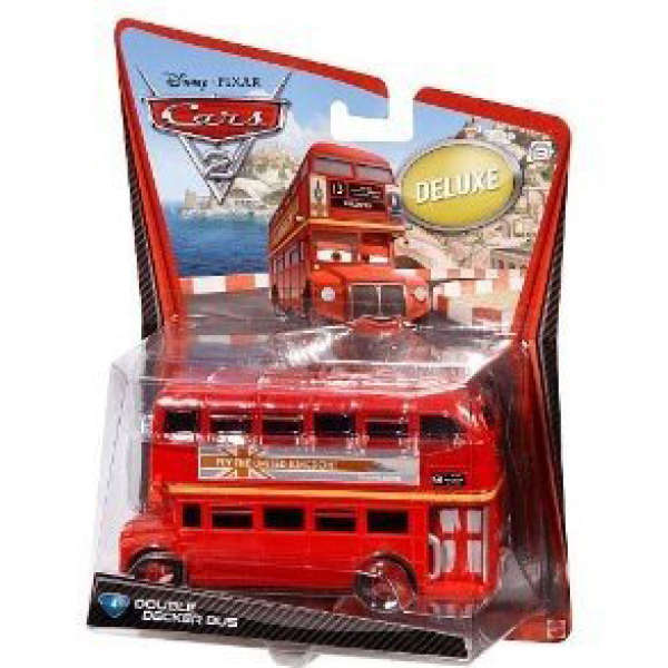 Cars 2 Oversized Die Cast Double Decker Bus Toys Zavvi