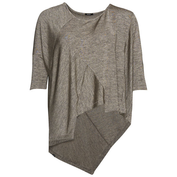 Denham Women's Native Jersey Top - Flint Grey