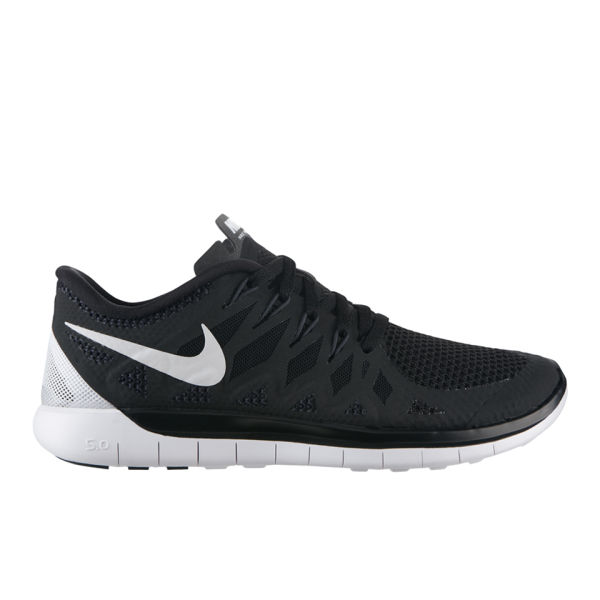 nike women 39 s free run uk 5 0 natural running shoes black. Black Bedroom Furniture Sets. Home Design Ideas