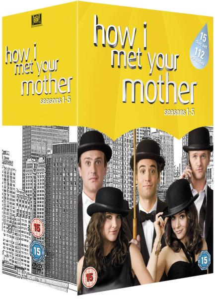 how i met your mother staffel 1-5