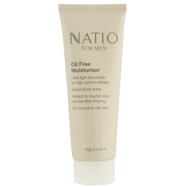Natio For Men Oil Free Moisturiser (100 g)