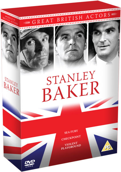 Stanley Baker Box Set - Violent Playground / Sea Fury / Checkpoint