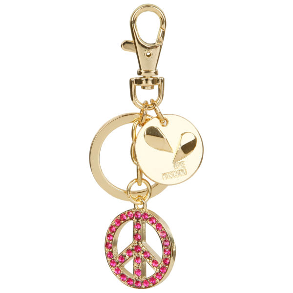 Love Moschino Peace Keyring